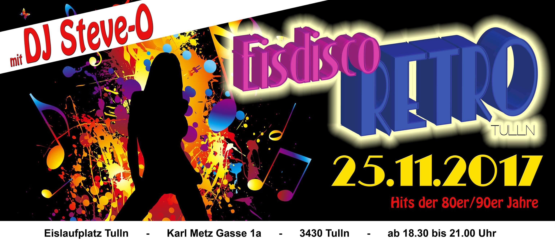 Eisdisco Retro 2017 in Tulln