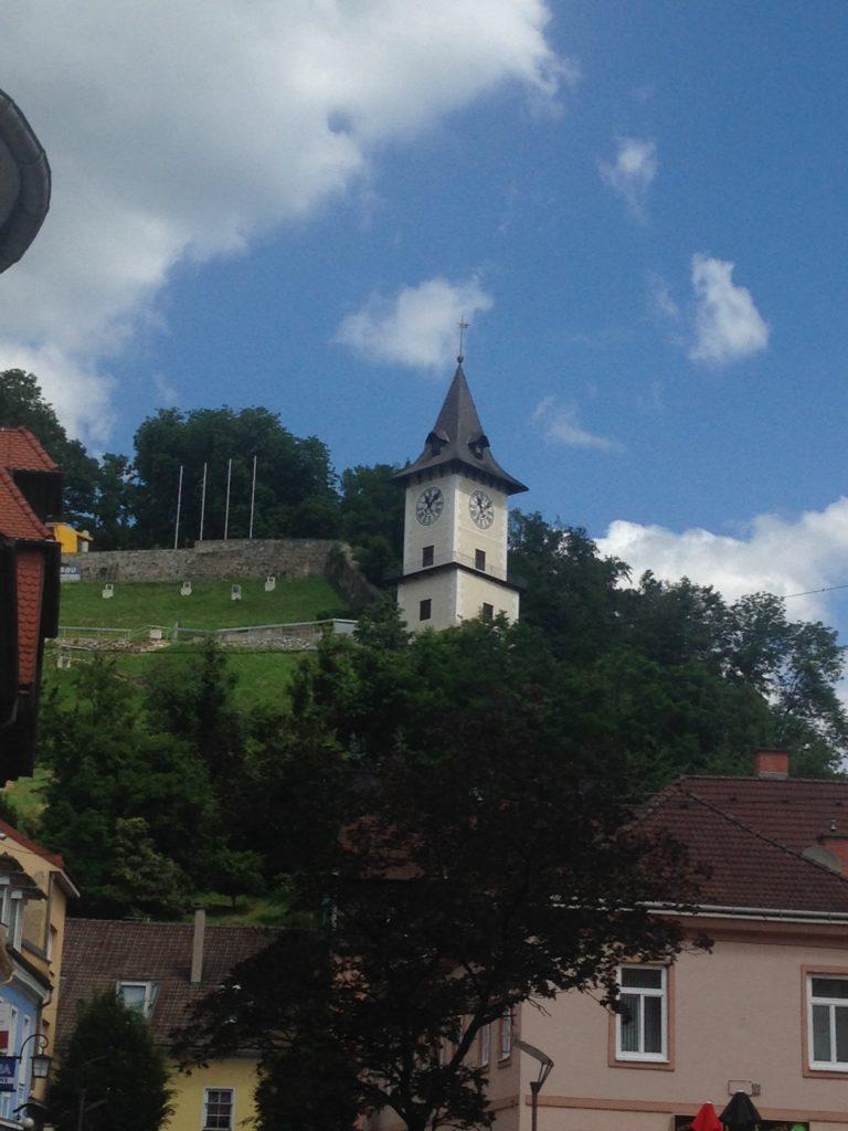 Brucker Uhrturm