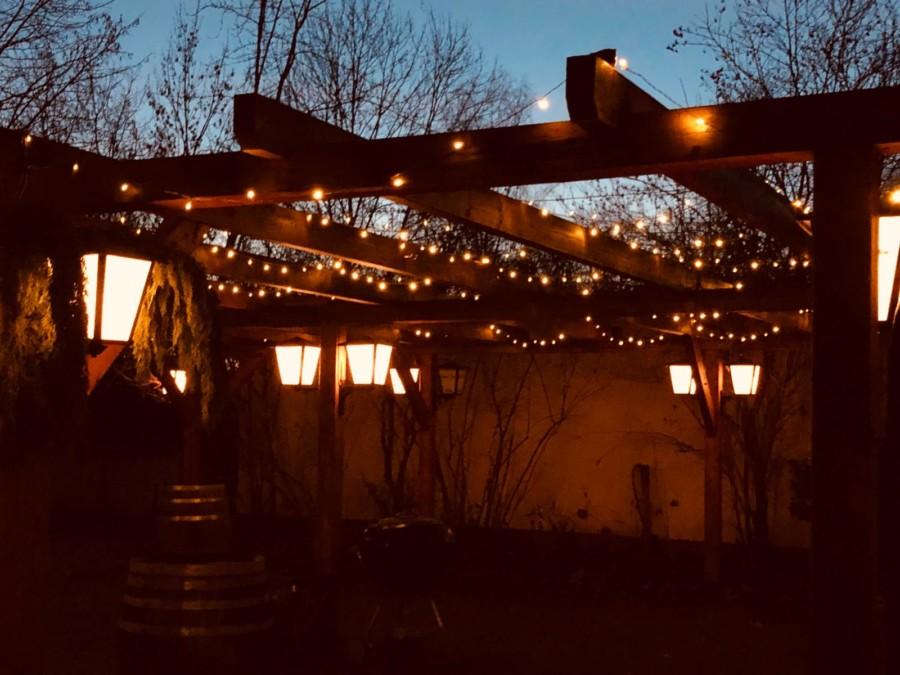 Winter Märchen Markt im Garten