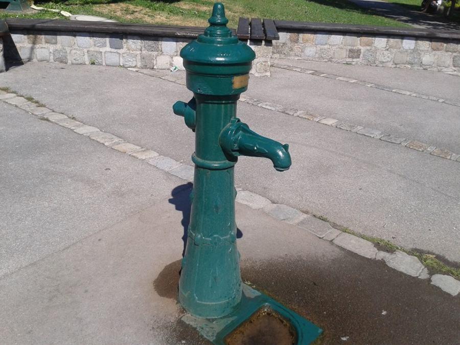 Hydrant beim Naschgarten