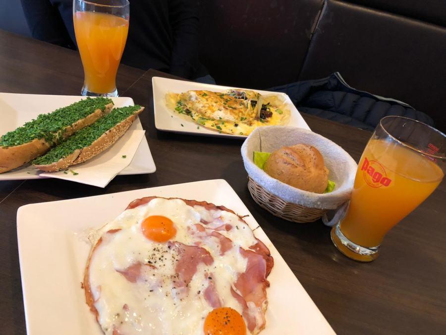 Frühstück im Winzig