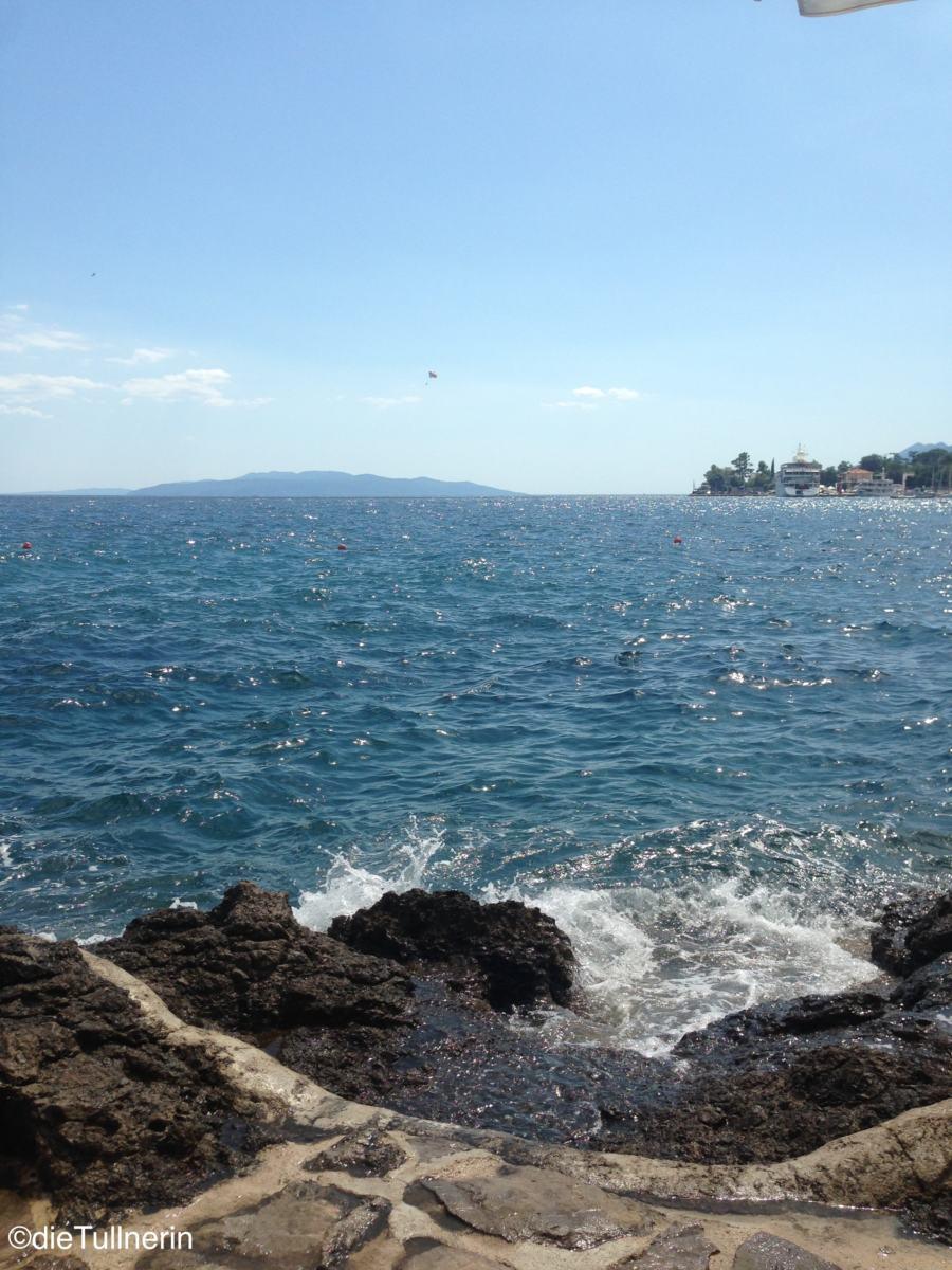 Ausblick auf Insel Cres