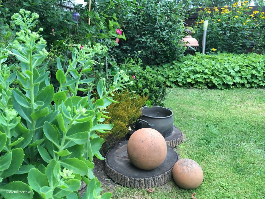 Garten einer Künstlerin