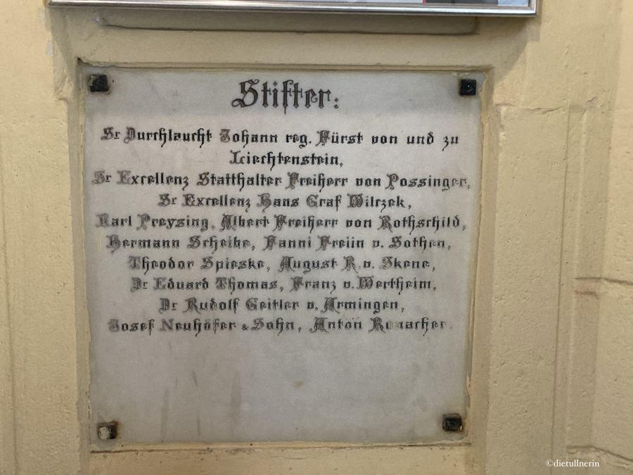 Gedenktafel Habsburgwarte